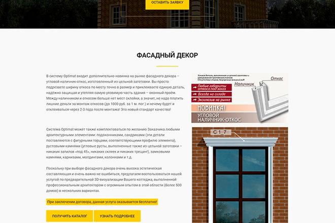 Сделаю продающий Лендинг для Вашего бизнеса 56 - kwork.ru