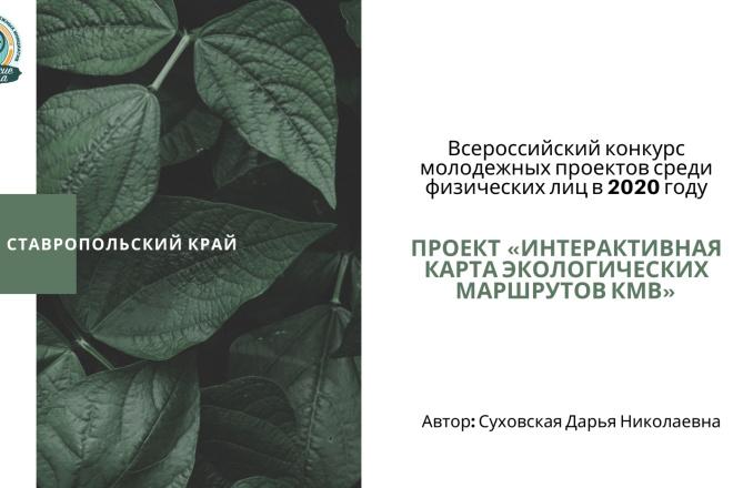 Стильный дизайн презентации 33 - kwork.ru