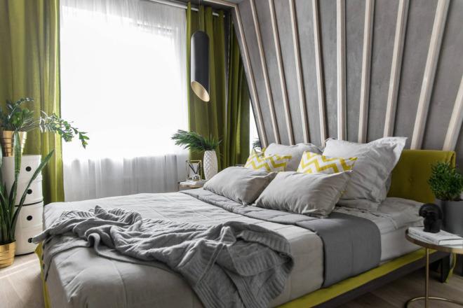 500 идей использования деревянных реек, баффели в интерьере 7 - kwork.ru