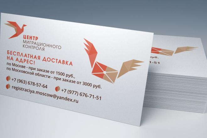 Дизайн визитки, исходники для печати бесплатно 5 - kwork.ru