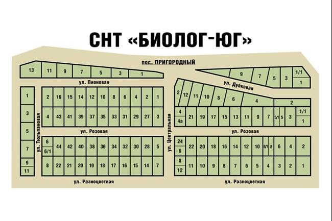 Отрисовка схемы проезда, карты 4 - kwork.ru