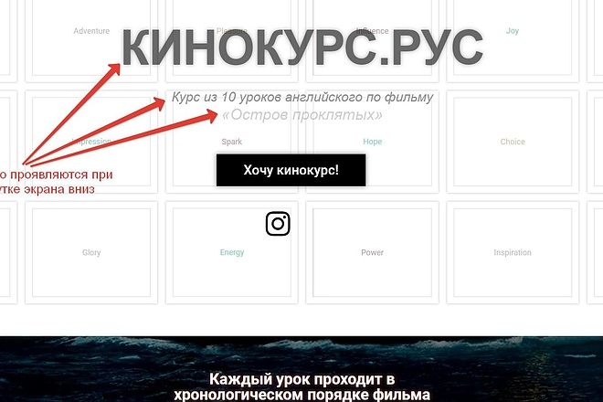 Лендинг для любых целей на Wordpress 30 - kwork.ru