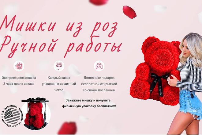 Создам лендинг на вордпресс быстро 30 - kwork.ru