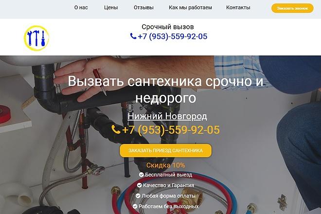 Создам лендинг на вордпресс быстро 26 - kwork.ru