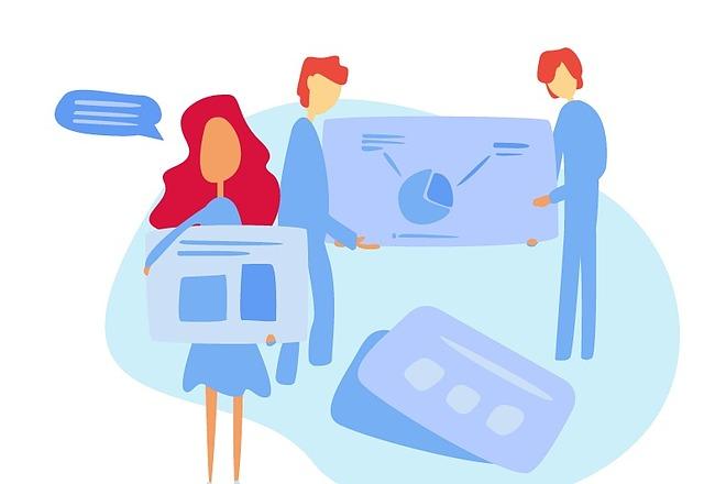 Иллюстрация под разные задачи 10 - kwork.ru