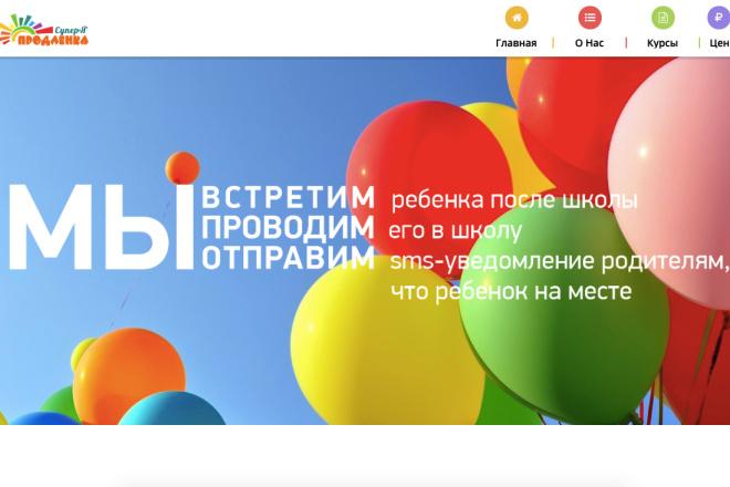 Скопирую Landing page, одностраничный сайт и установлю редактор 79 - kwork.ru