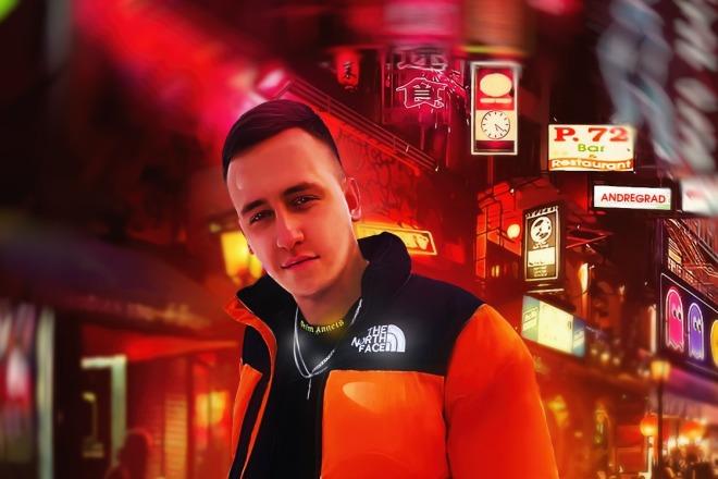 Качественный Digital Art Портрет 5 - kwork.ru