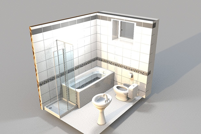 3D визуализация помещений 19 - kwork.ru