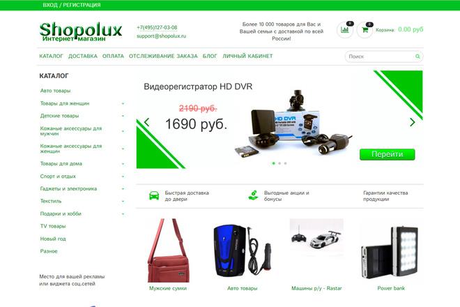 Профессионально создам интернет-магазин на insales + 20 дней бесплатно 66 - kwork.ru