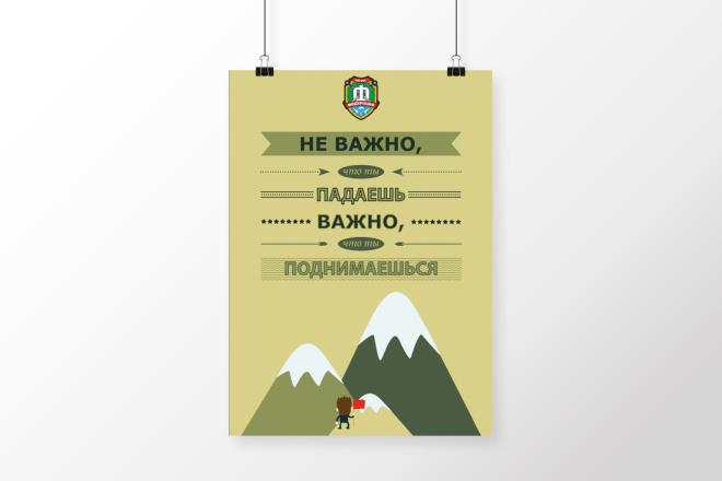 Разработаю дизайна постера, плаката, афиши 12 - kwork.ru