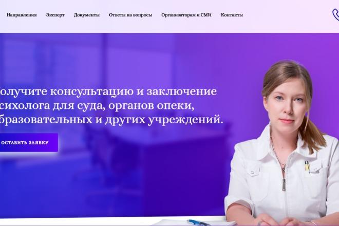Разработаю продающий Landing Page под ключ на WordPress 4 - kwork.ru
