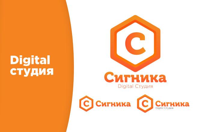 Разработка логотипа с нуля 3 - kwork.ru