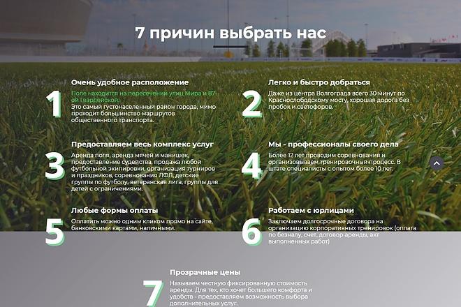 Сайт под ключ. Landing Page. Backend 193 - kwork.ru