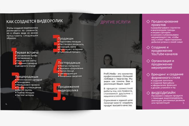 Разработаю Маркетинг Кит, для личных встреч и рассылки 64 - kwork.ru
