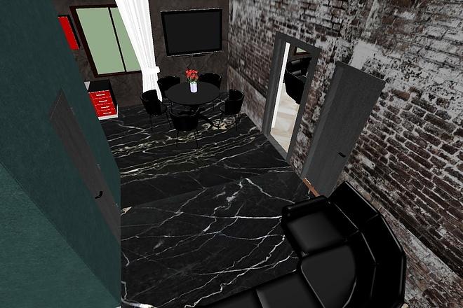 3d визуализация квартир и домов 22 - kwork.ru