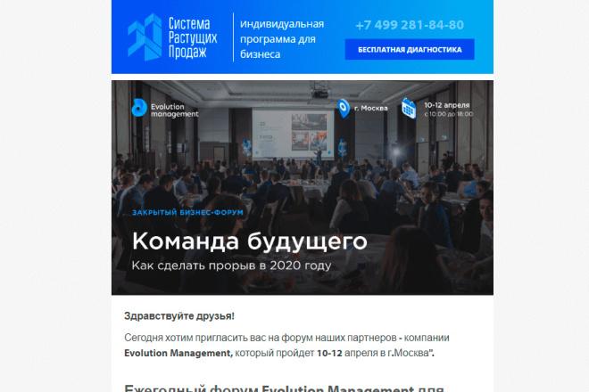 Создание и вёрстка HTML письма для рассылки 95 - kwork.ru