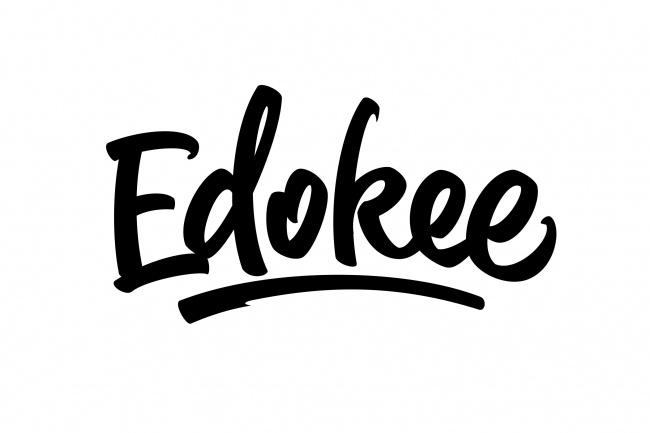 Рукописный логотип в стиле леттеринг 19 - kwork.ru