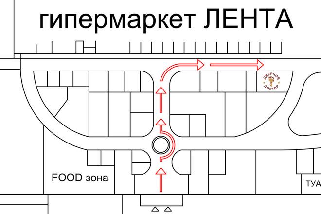 Схема планировочной организации земельного участка - спозу 3 - kwork.ru
