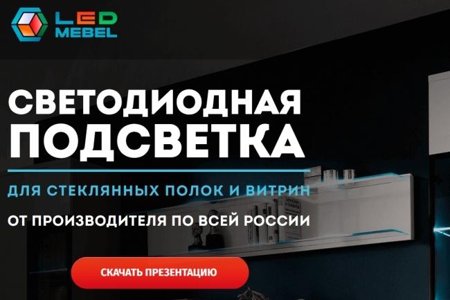 Адаптивная верстка сайта по дизайн макету 32 - kwork.ru