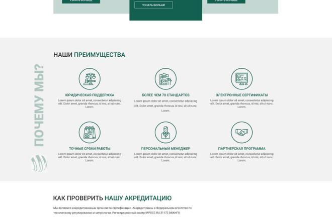 Уникальный дизайн сайта для вас. Интернет магазины и другие сайты 93 - kwork.ru