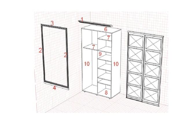 Изготовления проекта для мебели с технической документацией 8 - kwork.ru