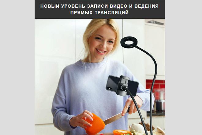 Качественная копия лендинга с установкой панели редактора 29 - kwork.ru
