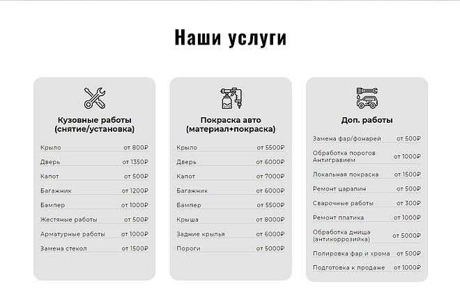 Сайт под ключ. Landing Page. Backend 171 - kwork.ru