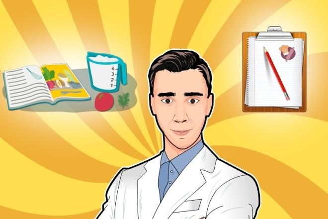 Создам иллюстрации 2 - kwork.ru