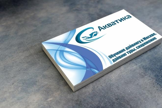Уникальный дизайн-макет визитки 2 - kwork.ru