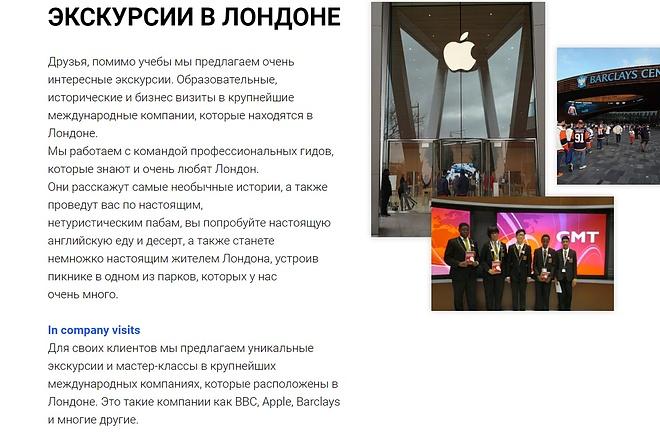 Создание сайта - Landing Page на Тильде 62 - kwork.ru