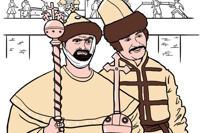 Нарисую для Вас иллюстрации в жанре карикатуры 10 - kwork.ru