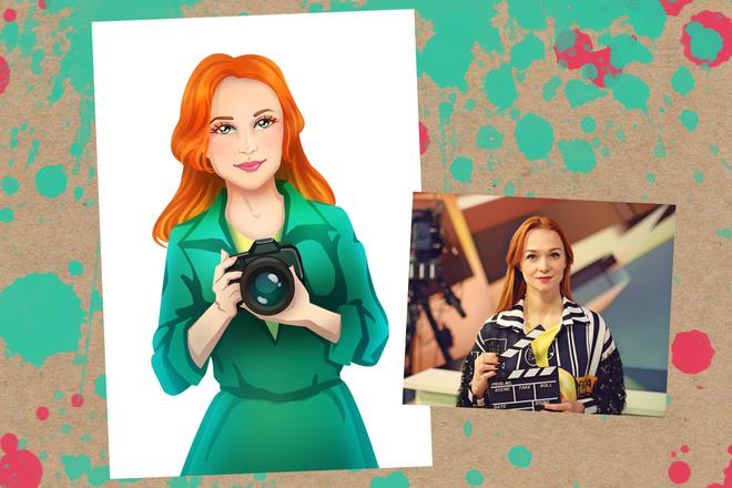 Портрет в стиле аниме или манги 7 - kwork.ru