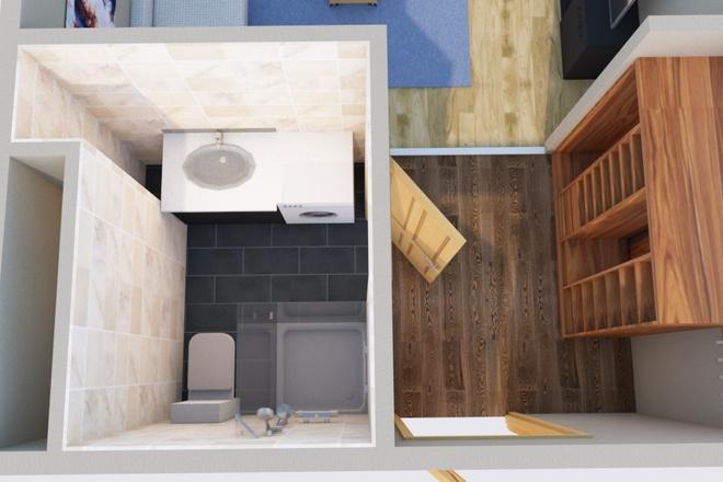 Оцифровка плана этажа, перечерчивание плана дома в Archicad 5 - kwork.ru