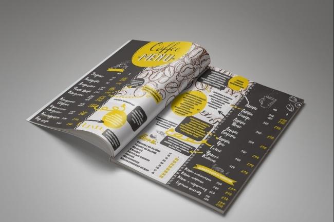 Дизайн меню, каталога 6 - kwork.ru
