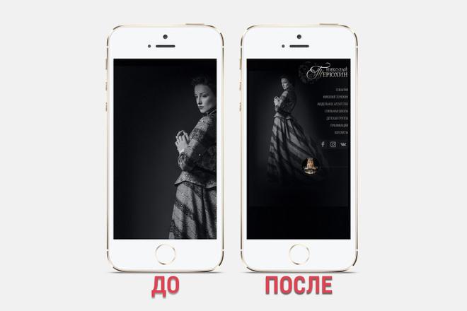 Адаптация сайта под все разрешения экранов и мобильные устройства 35 - kwork.ru