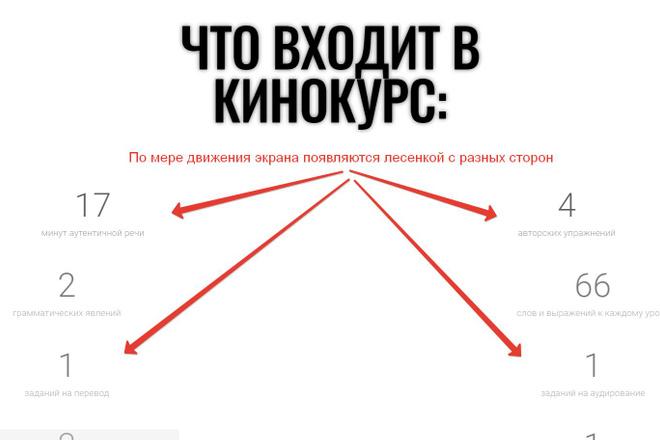 Лендинг для любых целей на Wordpress 29 - kwork.ru