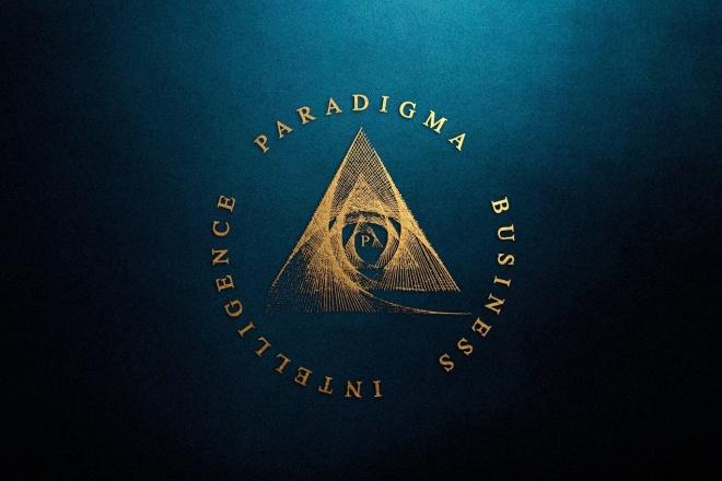 3 современных логотипа 1 - kwork.ru