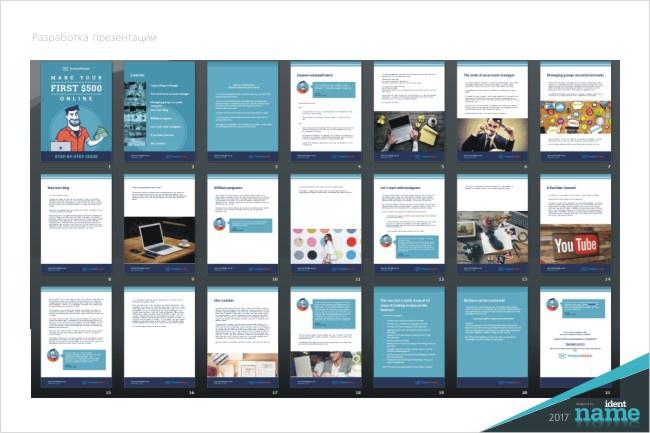 Бизнес презентацию в PDF 29 - kwork.ru