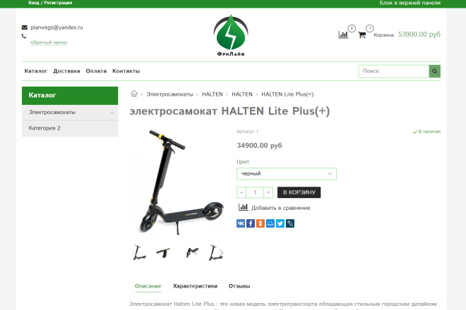 Профессионально создам интернет-магазин на insales + 20 дней бесплатно 11 - kwork.ru