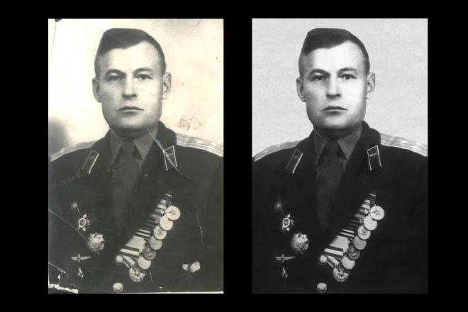 Реставрация старых фото 6 - kwork.ru