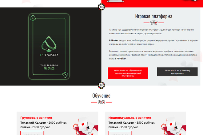 Создание красивого адаптивного лендинга на Вордпресс 42 - kwork.ru