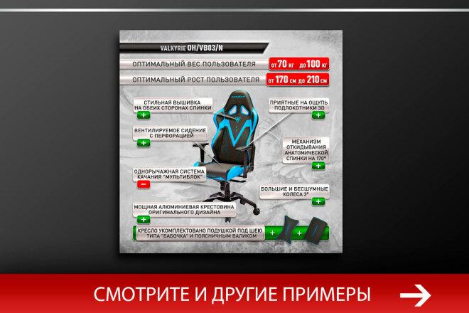 Баннер, который продаст. Креатив для соцсетей и сайтов. Идеи + 66 - kwork.ru