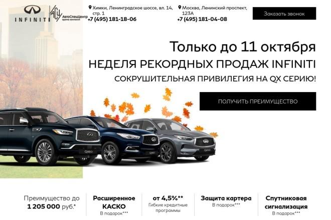 Копия лендинга изменение установка админки 5 - kwork.ru