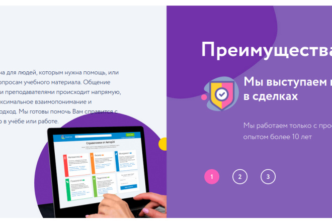 Скопирую страницу любой landing page с установкой панели управления 30 - kwork.ru