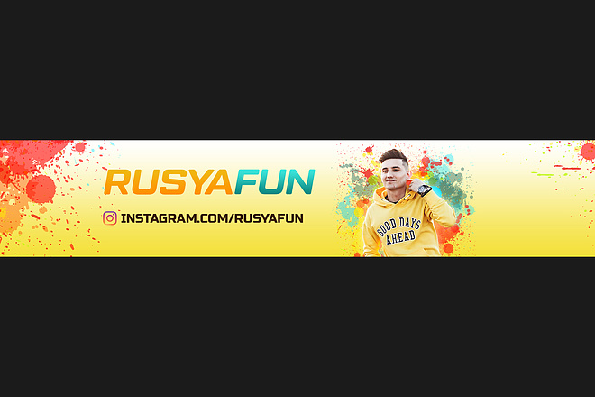 Оформлю красиво обложку для Вашего канала на YouTube 7 - kwork.ru