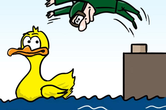 Нарисую простую иллюстрацию в жанре карикатуры 32 - kwork.ru