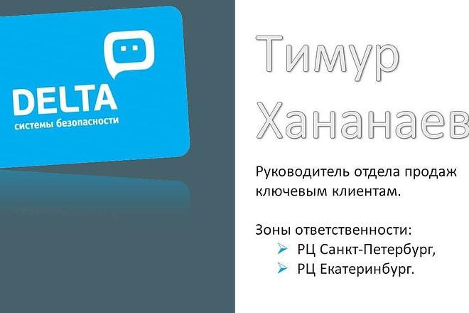 Оформление презентации в PowerPoint 4 - kwork.ru