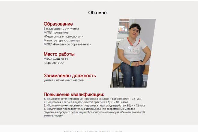 Создание сайтов на конструкторе сайтов WIX, nethouse 49 - kwork.ru