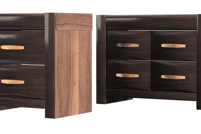 Моделирование мебели 23 - kwork.ru
