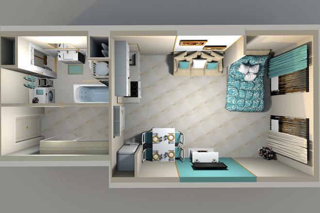3d визуализация квартир и домов 53 - kwork.ru